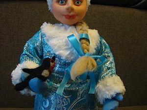 Готовимся к Новому году - шьем Снегурочку.. Ярмарка Мастеров - ручная работа, handmade.