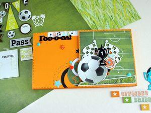 Видео обзор и краткое описание футбольного миника. Ярмарка Мастеров - ручная работа, handmade.