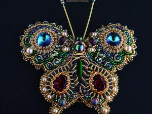 Брошь-кулон  «Византийская красавица». Ярмарка Мастеров - ручная работа, handmade.
