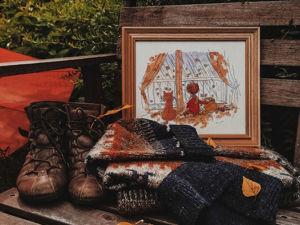 Я, мой Кот и Осень. Ярмарка Мастеров - ручная работа, handmade.