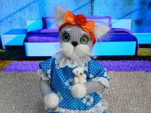 Кошка Матильда. Ярмарка Мастеров - ручная работа, handmade.