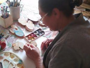 О нашей мастерице-художнице. Ярмарка Мастеров - ручная работа, handmade.