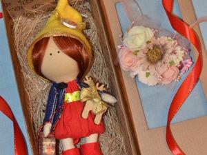 Куколка Гномочка. Ярмарка Мастеров - ручная работа, handmade.
