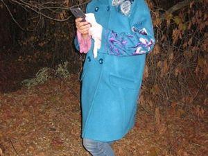 Пальто «сИреневый Ирис И Жук». Ярмарка Мастеров - ручная работа, handmade.