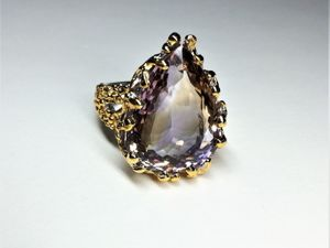 ВИДЕО кольца  «Чародейка». Ярмарка Мастеров - ручная работа, handmade.
