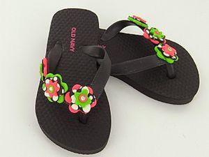 Цветы для летней обуви. Ярмарка Мастеров - ручная работа, handmade.