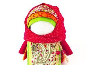Создаем народную куклу-оберег «Крупеничка». Ярмарка Мастеров - ручная работа, handmade.