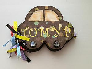 Делаем фотоальбом «Лучшее — детям». Ярмарка Мастеров - ручная работа, handmade.