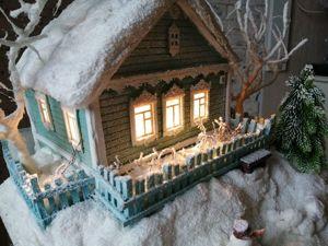 Мой домик стал работой дня, спасибо!. Ярмарка Мастеров - ручная работа, handmade.
