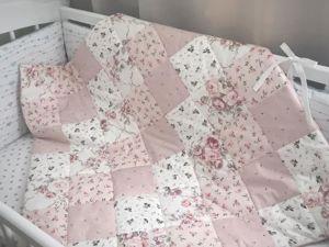 Новогодняя скидка на лоскутные одеяла и пледы. Ярмарка Мастеров - ручная работа, handmade.