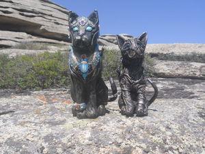 Сказ о том, как я своих кожаных кошек выгуливала. Ярмарка Мастеров - ручная работа, handmade.