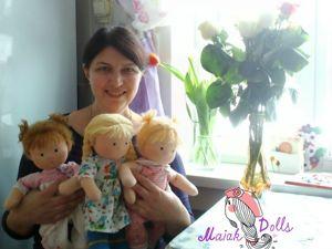 Машина история или Как я стала кукольной мамой. Ярмарка Мастеров - ручная работа, handmade.