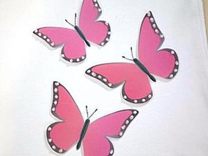 Украшаем футболку для девочки «живыми»  бабочками. Ярмарка Мастеров - ручная работа, handmade.