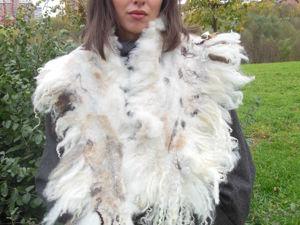 МК шарфы с флисом   «Дикие». Ярмарка Мастеров - ручная работа, handmade.