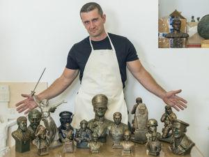 Знакомство со скульптором. Ярмарка Мастеров - ручная работа, handmade.
