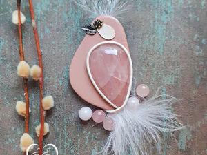 Новая розовая птичка уже в продаже!. Ярмарка Мастеров - ручная работа, handmade.