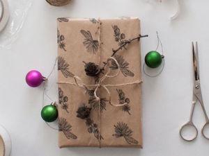 Как изготовить подарочную упаковку своими руками. Ярмарка Мастеров - ручная работа, handmade.
