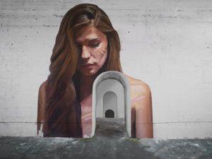 Женщины, выходящие из воды: оригинальные картины Sean Yoro. Ярмарка Мастеров - ручная работа, handmade.