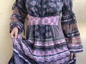 Дымчатые, пыльно-розовые платья. Ярмарка Мастеров - ручная работа, handmade.