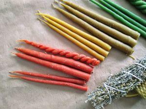 Чакровые свечи. Ярмарка Мастеров - ручная работа, handmade.