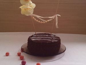 Мастер-класс: топпер для торта. Ярмарка Мастеров - ручная работа, handmade.