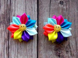 Делаем веселые резиночки цветик-семицветик. Ярмарка Мастеров - ручная работа, handmade.