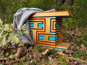 Доставка за наш счет, необычнай шкафчик украсит Ваш интерьер. Ярмарка Мастеров - ручная работа, handmade.