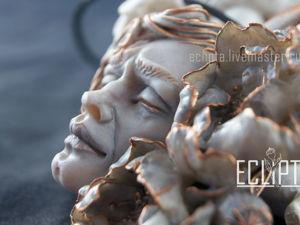 ВИДЕО. Кулон Morpheus из полимерной глины. Ярмарка Мастеров - ручная работа, handmade.