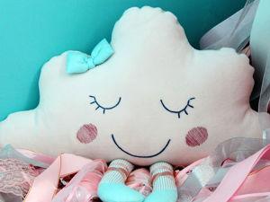 Видеоурок: шьём подушку-игрушку «Облачко». 1 часть. Ярмарка Мастеров - ручная работа, handmade.
