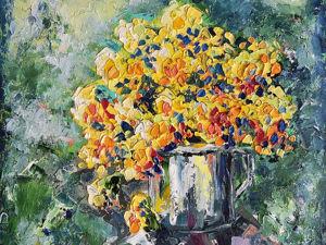 Видео обзор картины  «Летний денёк». Ярмарка Мастеров - ручная работа, handmade.