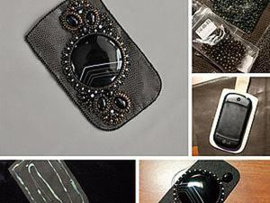 Мастерим чехол для телефона. Часть вторая: создание и украшение чехла. Ярмарка Мастеров - ручная работа, handmade.