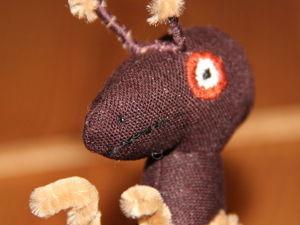 Шьем игрушку «Муравей вопросик». Ярмарка Мастеров - ручная работа, handmade.