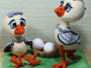 Вяжем цыпленка крючком. Ярмарка Мастеров - ручная работа, handmade.