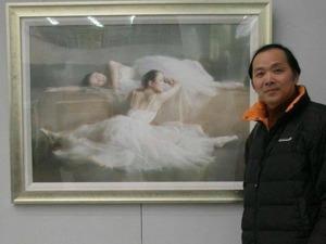 Воздушные балерины в акварелях  Liu Yi. Ярмарка Мастеров - ручная работа, handmade.
