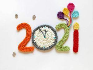 С Новым 2021 годом!!!!. Ярмарка Мастеров - ручная работа, handmade.