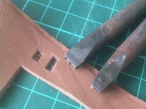 Как сделать прямоугольный пробойник для кожи своими руками. Ярмарка Мастеров - ручная работа, handmade.