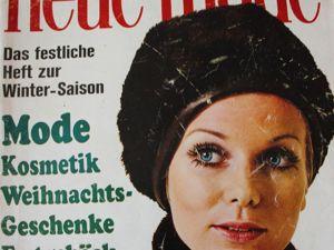 Новая мода Neue Mode 11/1969. Ярмарка Мастеров - ручная работа, handmade.