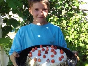 Паша приготовил вкусный торт!. Ярмарка Мастеров - ручная работа, handmade.