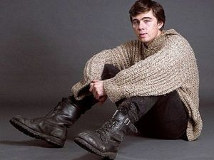 Вяжем свитер, как у Сергея Бодрова. Ярмарка Мастеров - ручная работа, handmade.