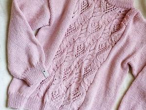 Появился в наличии модный свитер с японским узором!. Ярмарка Мастеров - ручная работа, handmade.
