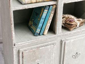 Делаем старинный книжный шкаф для кукол из картона. Ярмарка Мастеров - ручная работа, handmade.
