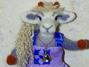 Валяем красавицу Козу. Ярмарка Мастеров - ручная работа, handmade.
