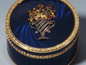 Хенрик Иммануэль Вигстрём — один из лучших ювелиров Карла Фаберже. Ярмарка Мастеров - ручная работа, handmade.