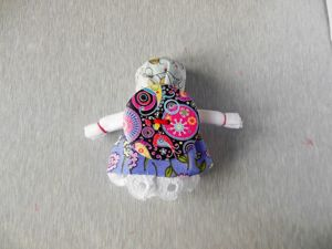 Мастерим народную куклу-оберег на пуговице. Ярмарка Мастеров - ручная работа, handmade.