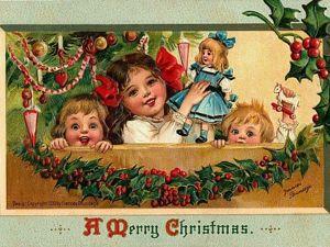 История рождественских открыток. Ярмарка Мастеров - ручная работа, handmade.