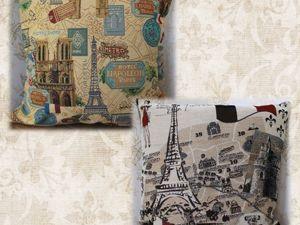 Чехлы из гобеленовой ткани ПАРИЖ. Ярмарка Мастеров - ручная работа, handmade.
