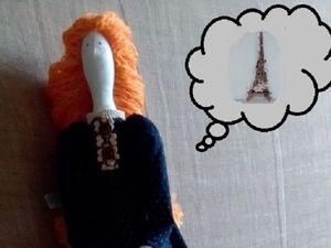 Истории из мира игрушек: Соня в Париже. Ярмарка Мастеров - ручная работа, handmade.