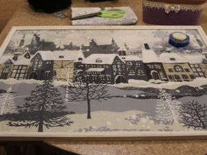 Создаем картину из ткани. Ярмарка Мастеров - ручная работа, handmade.