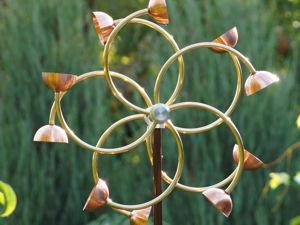 Ветряная кинетическая скульптура  «Zinnia». Ярмарка Мастеров - ручная работа, handmade.