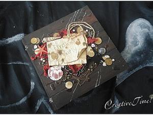 Мастер-класс: Фотоальбом в пиратском стиле, или Фотоальбом из ничего. Ярмарка Мастеров - ручная работа, handmade.
